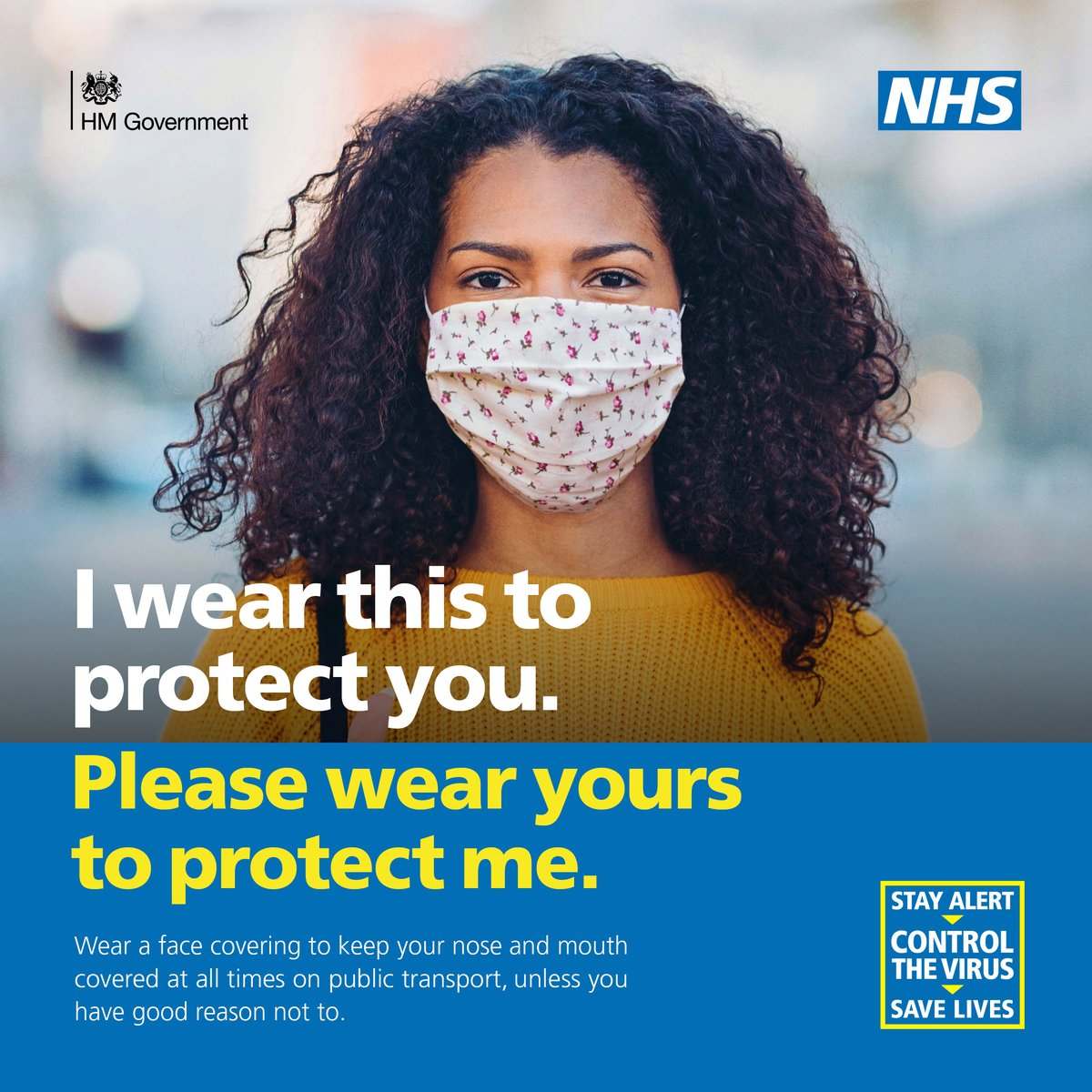 We want all patients to wear a mask at surgery